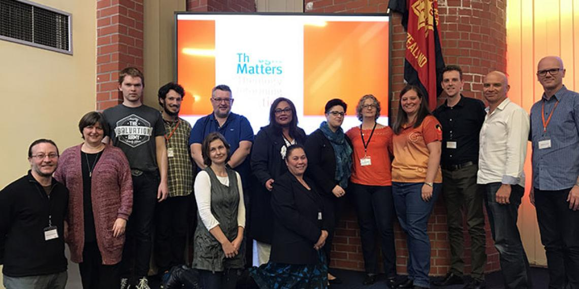 Conference presenters from Thought Matters 2017