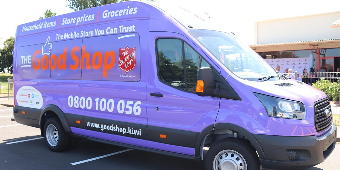 57d0deeea16844 Salvation Army wheels out first ethical shopping truck | The ...