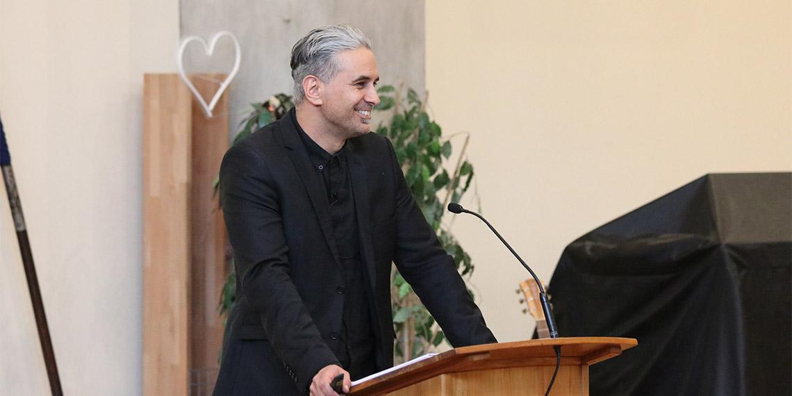 Jay Ruka at Just Action Mission Conference 2019