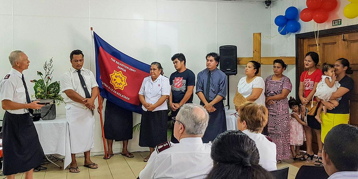 Samoa celebrates enrolment