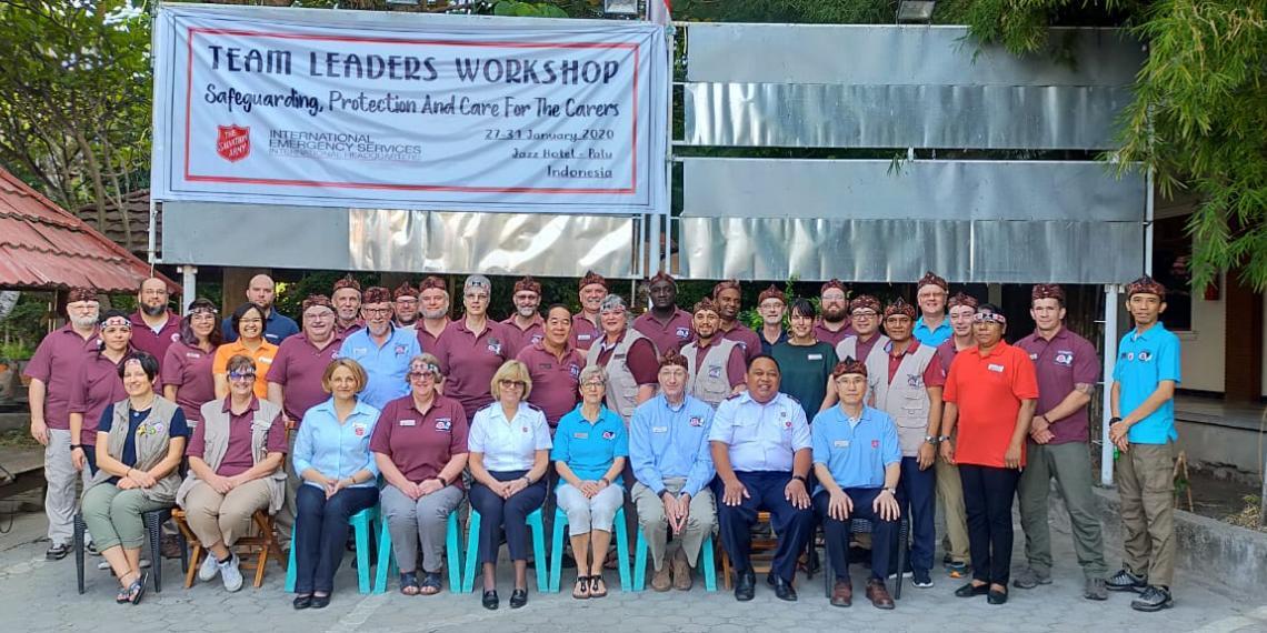 Disaster Training in Palu