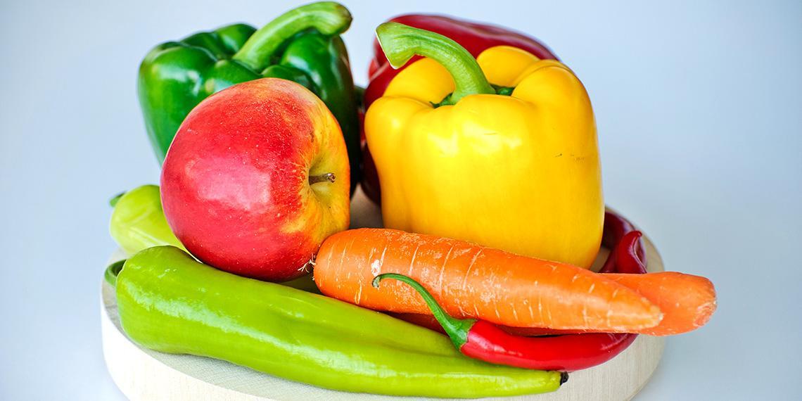 Fresh fruit and vege