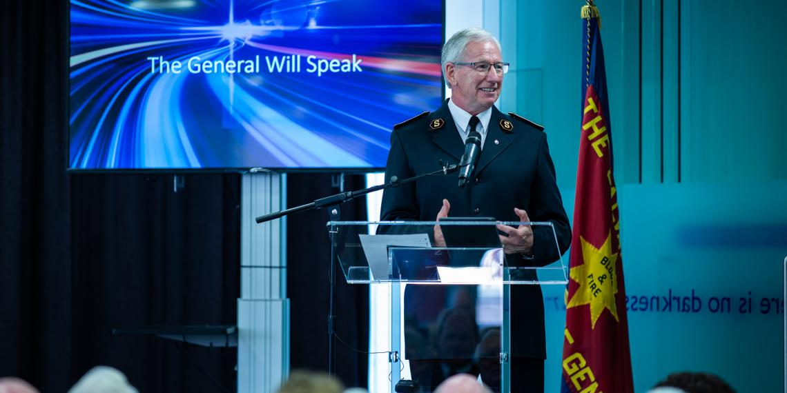 Official Welcome to General Brian Peddle to take place on Sunday 23 September