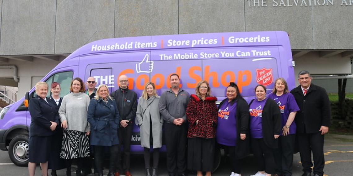 The Good Shop Launches in Porirua | The Salvation Army