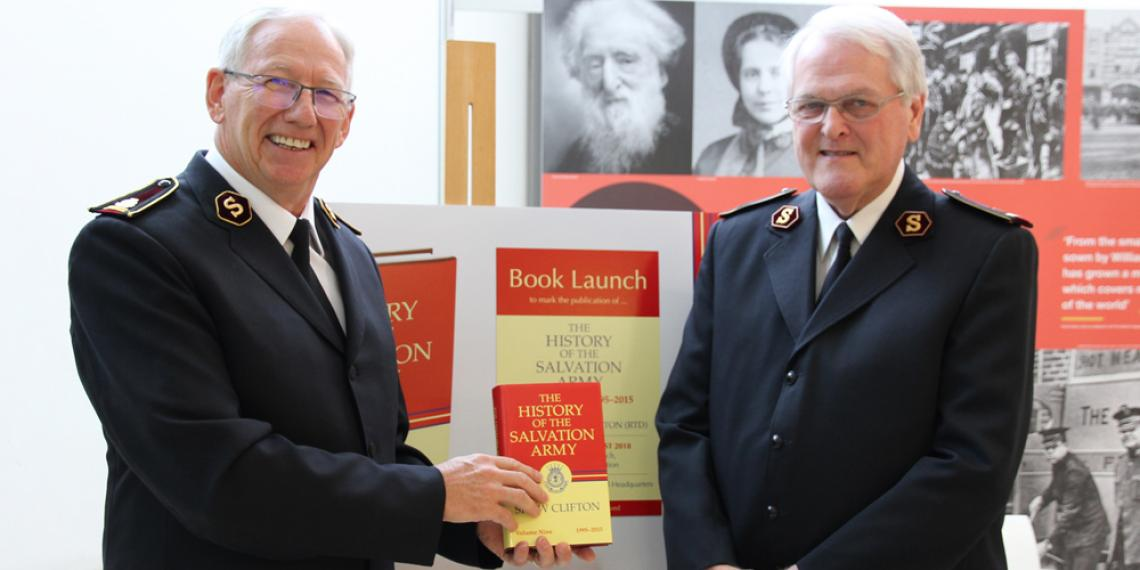 Volume 9 of The History of The Salvation Army launched