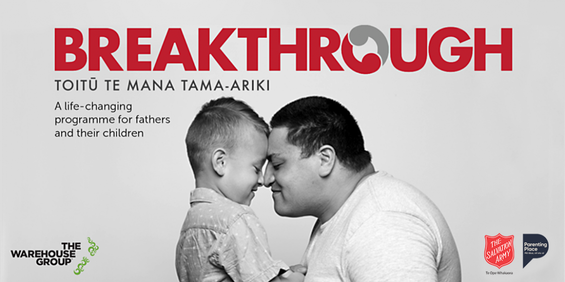 Breakthrough - a life-changing programme for fathers and their children
