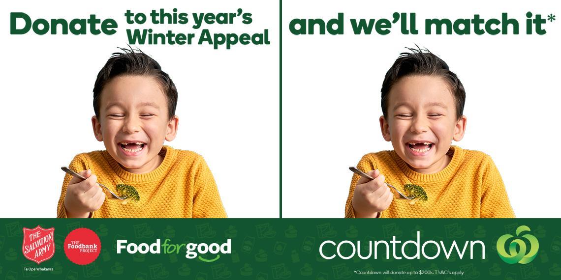 Foodbank Project Countdown Winter Appeal 2021