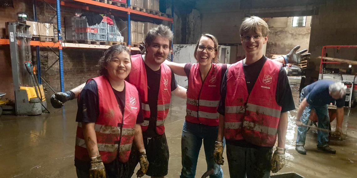 Salvation Army in Germany respond to flooding