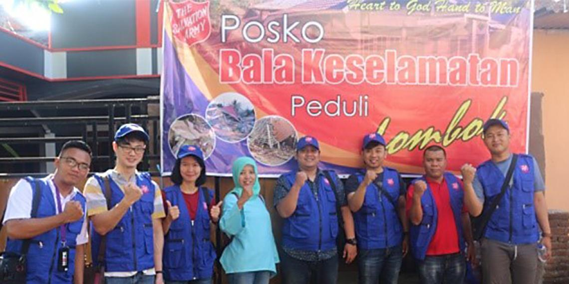 Salvation Army Lombok quake response continues