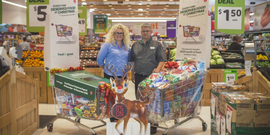 Countdown Food Rescue CHristmas Appeal