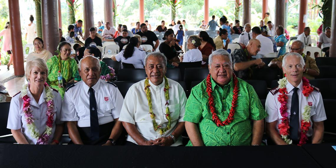 The Salvation Army's Official Launch in Samoa