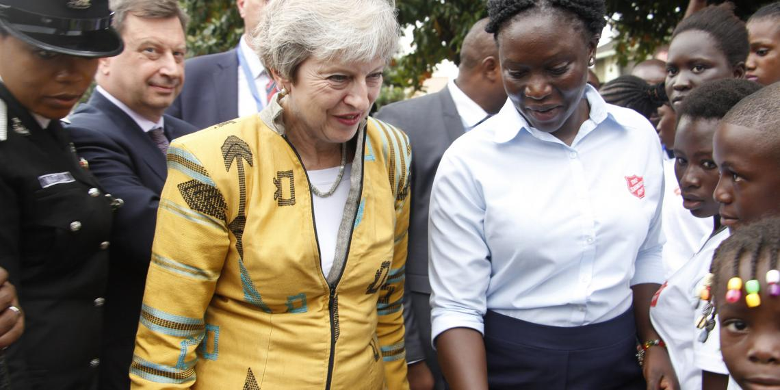 Theresa May visits Nigeria