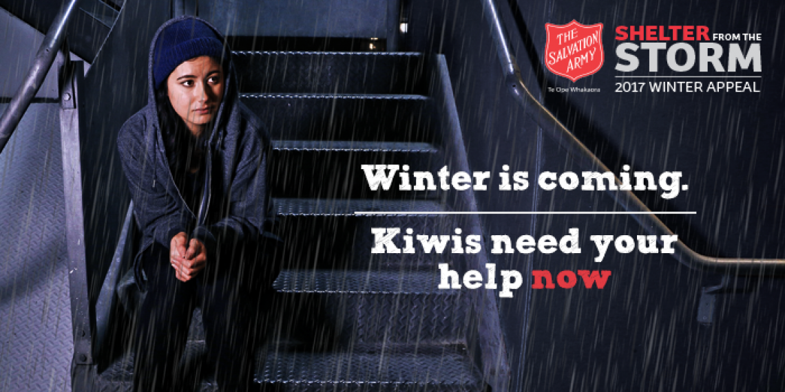 Shelter from the storm 2017 winter appeal