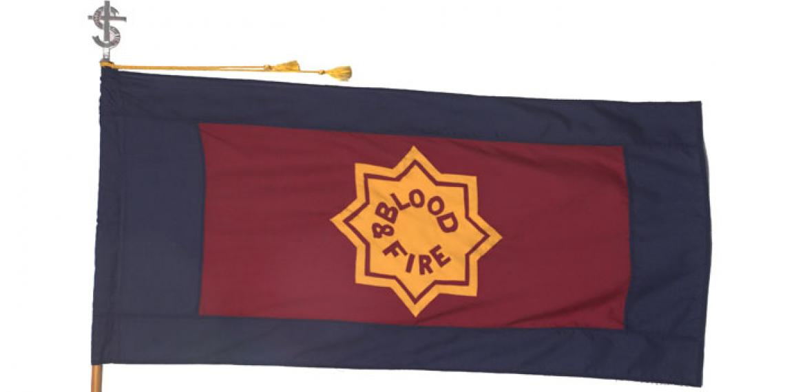 The Salvation Army flag