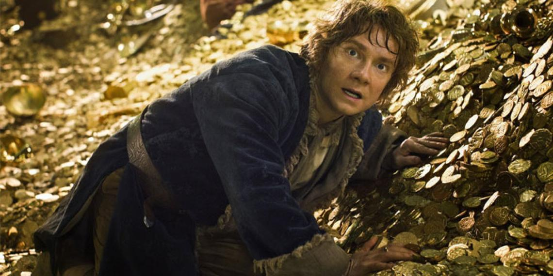Image from the film The Hobbit: The Desolation of Smaug