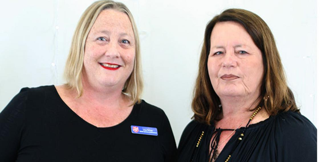 Lisa and Krissy of the the Senior Friendship Programme