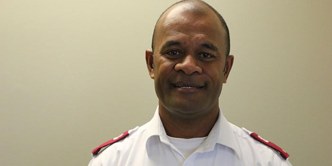 Fiji Divisional Youth Secretary Lieutenant Seru Napolioni