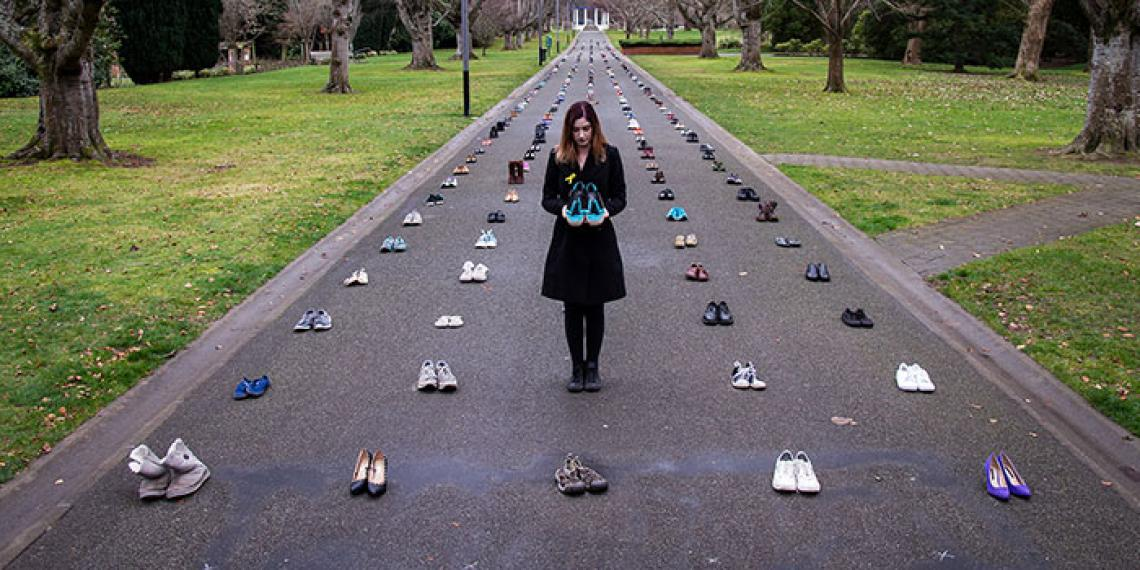 The Shoe Project visits Invercargill