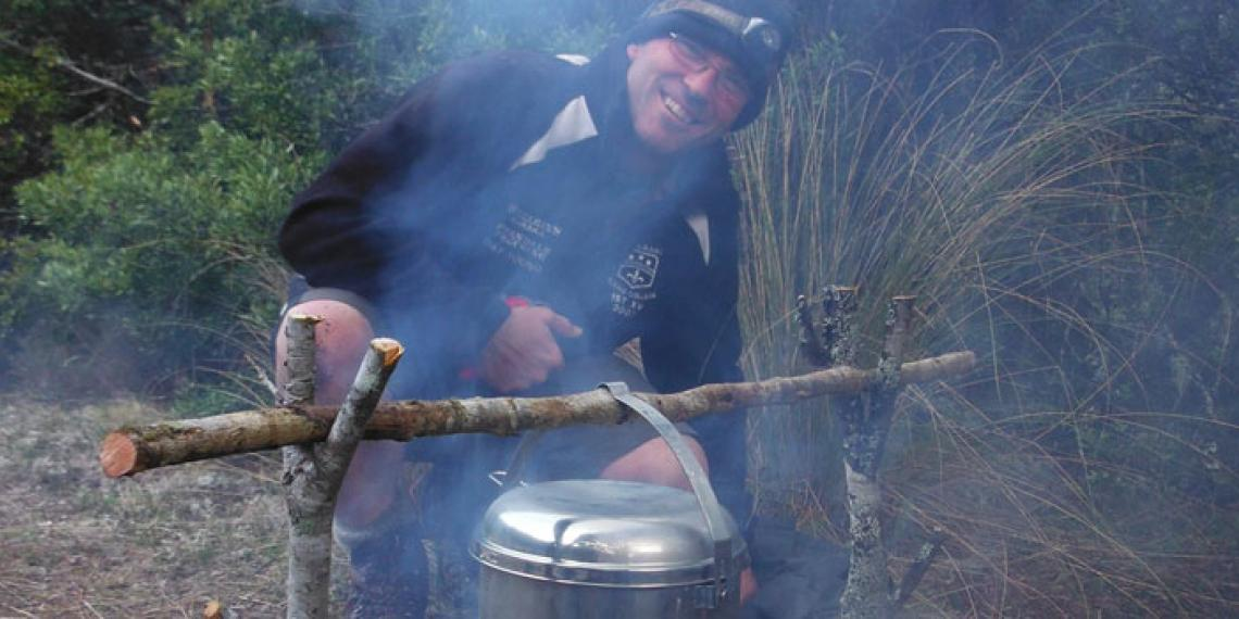 Ken Roberston of Blue Mountain Adventure Centre