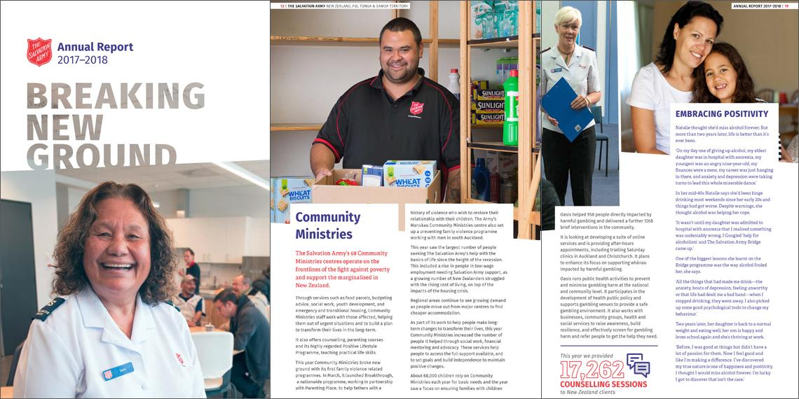 The Salvation Army Annual Report 17/18