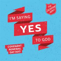 Covenant Renewal 2017 | The Salvation Army