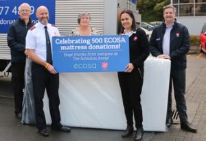 Ecosa 500 Mattresses Donated