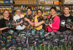 Kimberly-Clark Sanitary Product Donation