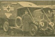 The Salvation Army's provision of ambulances and ambulance crews in the First World War.