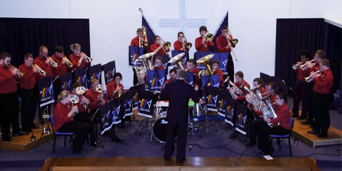 National Youth Band perform at Wellington South Corps