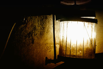 Light in a mine