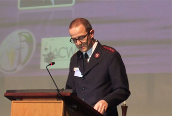 Salvation Army represents at Theology Symposium