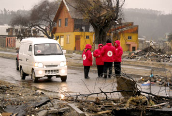 Salvation Army Still Supporting Earthquake and Tsunami Victims in Chile