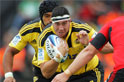 Hurricanes rugby player Jeffery Toomaga-Allen