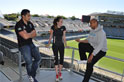 Jerome Ropati, Holly van Dalen and CJ Bruton