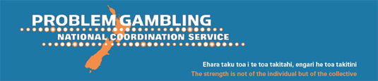 Problem Gambling National Coordination Service banner
